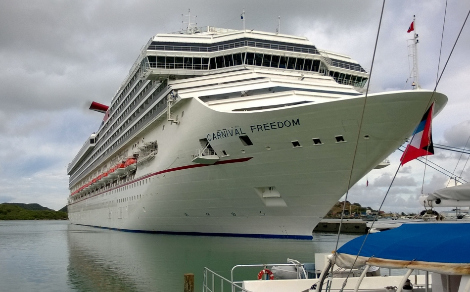 Carnival Freedom In Antigua